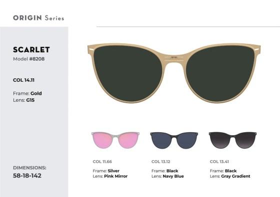 ROAV eyewear Scarlett sunglasses