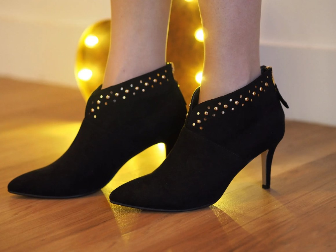 JDW studded ankle boots