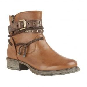 Lotus Tan Leather Mallegan Boots