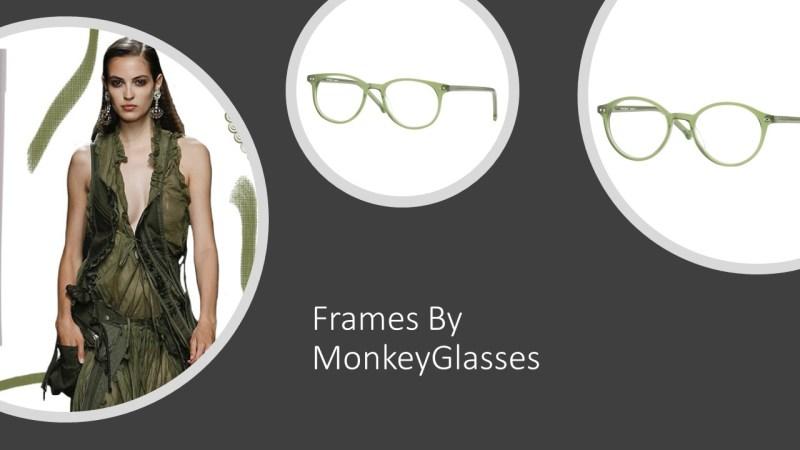 Forest green frames