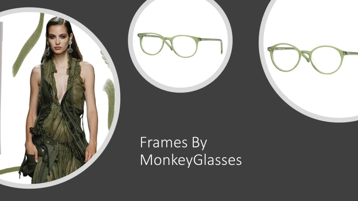 Forest green frames