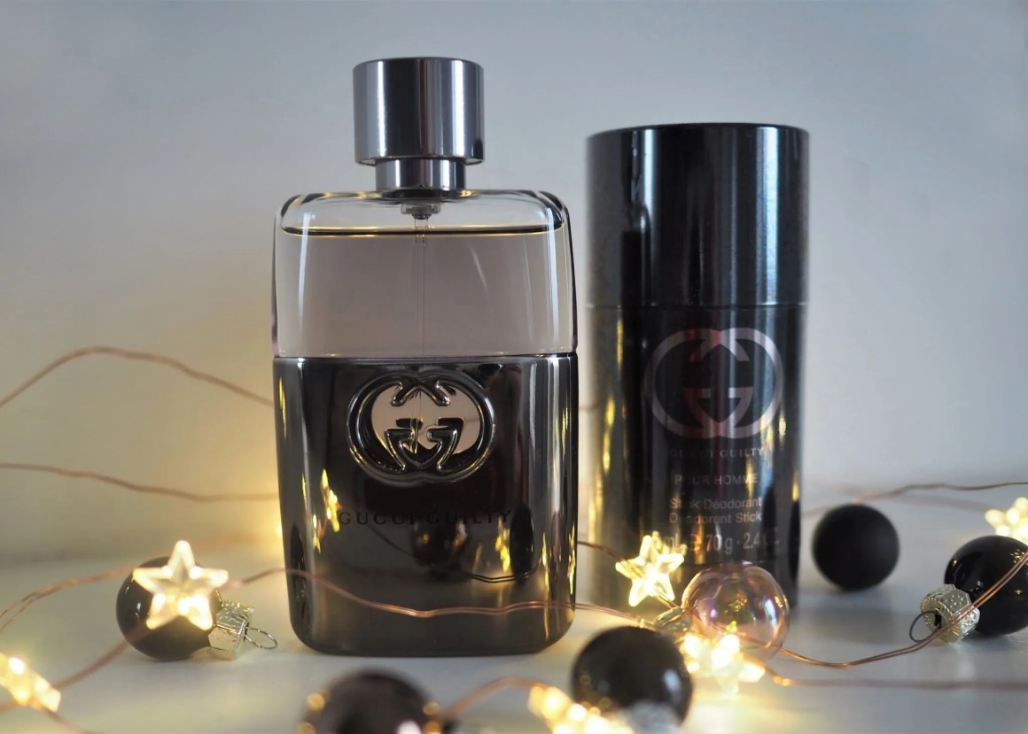 christmas gift ideas for teenagers boys Gucci Guilty aftershave set