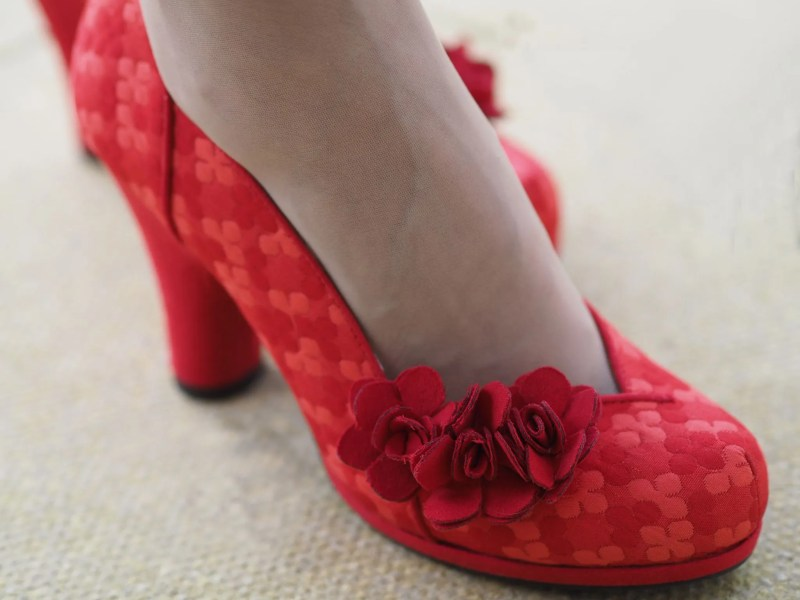 Ruby shoos red charlotte