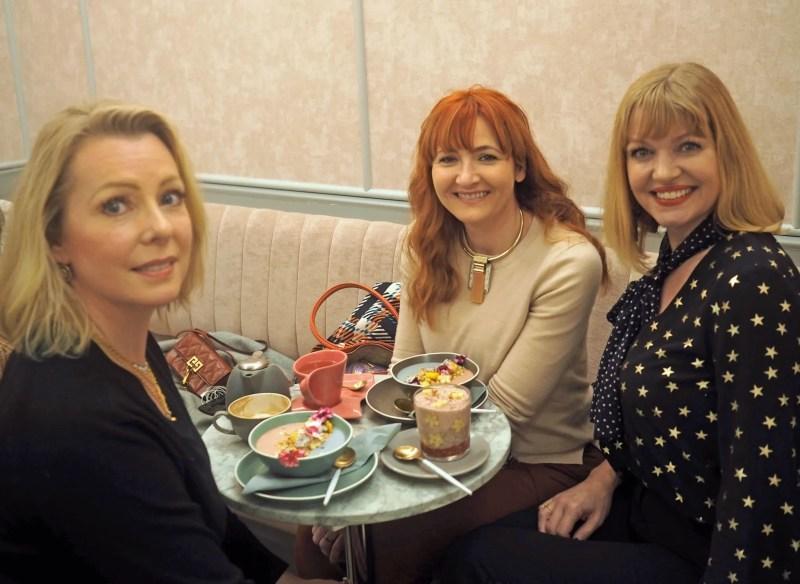 Girly trip to London feya cafe