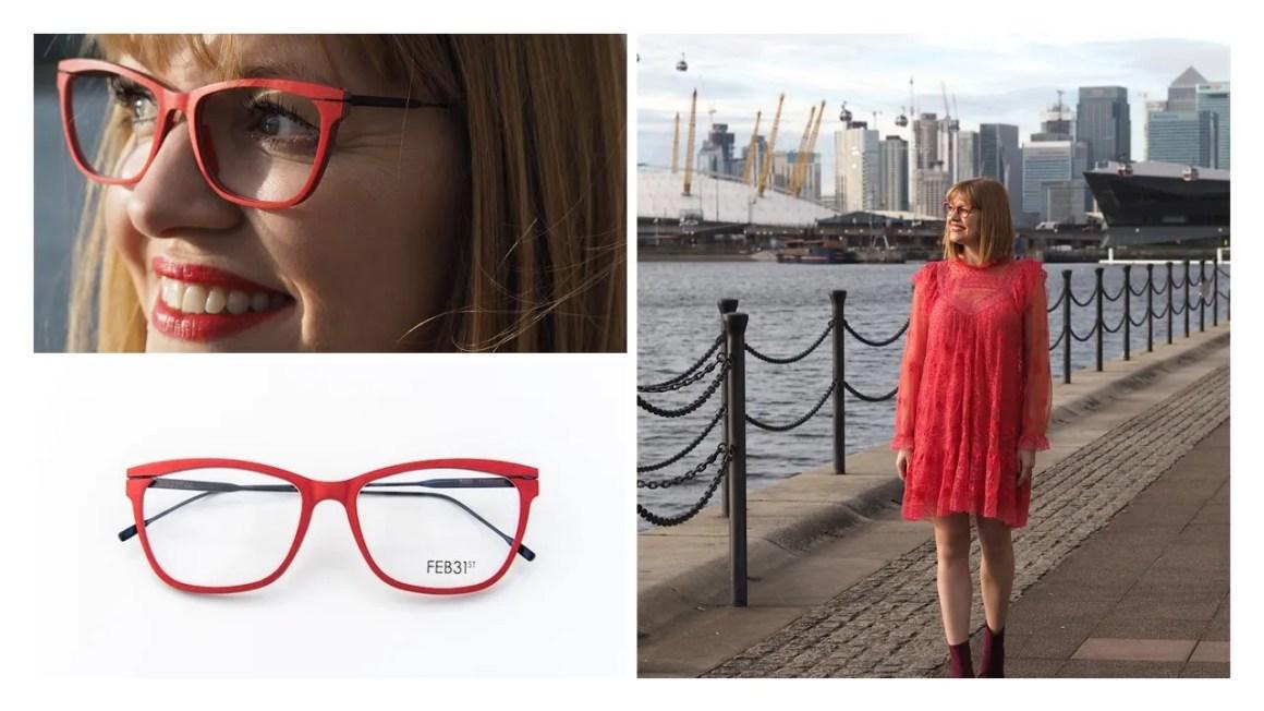 Needle and Thread Dress with Feb31st eyewear