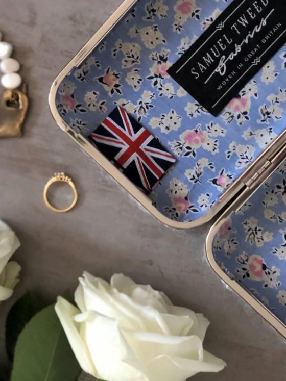 Spring updates mothers day gift wedding clutch bag Samuel Tweed mohair clutch