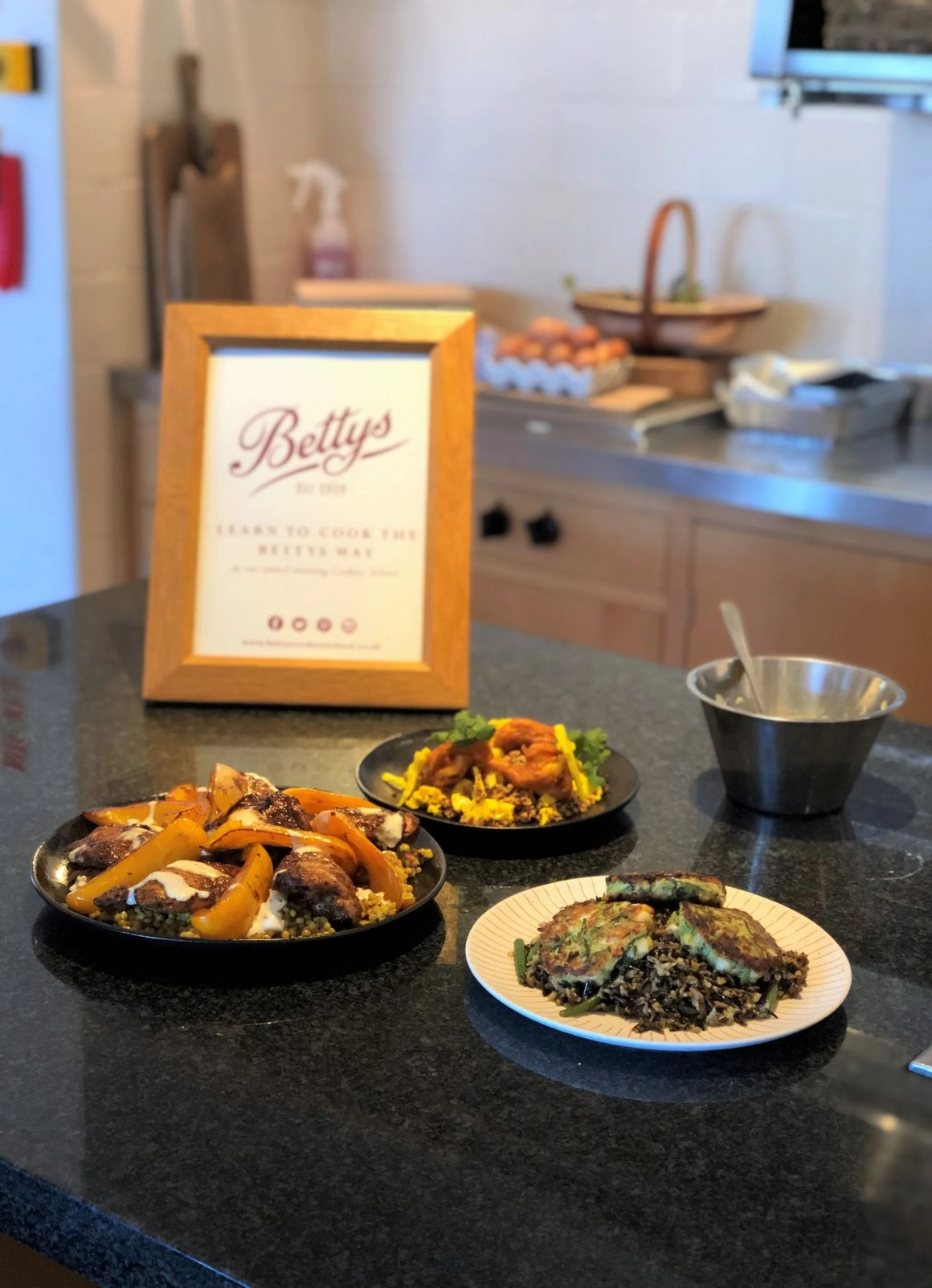 Bettys cookery school go with the grain review