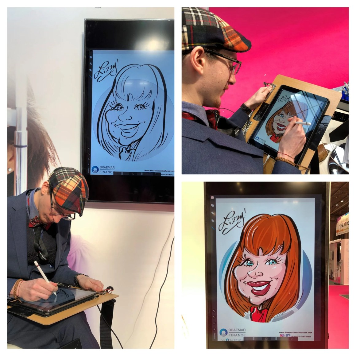 Optrafair Exchange 2019 caricature