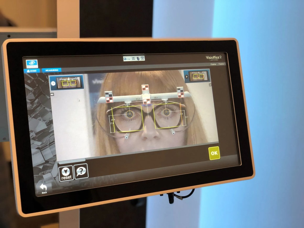 bespoke varifocals Essilor Exclusive 4D measurements with visioffice 2