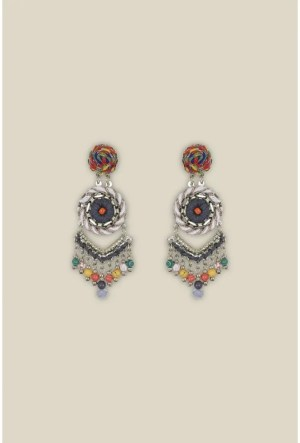 Mistral String Bead Earrings