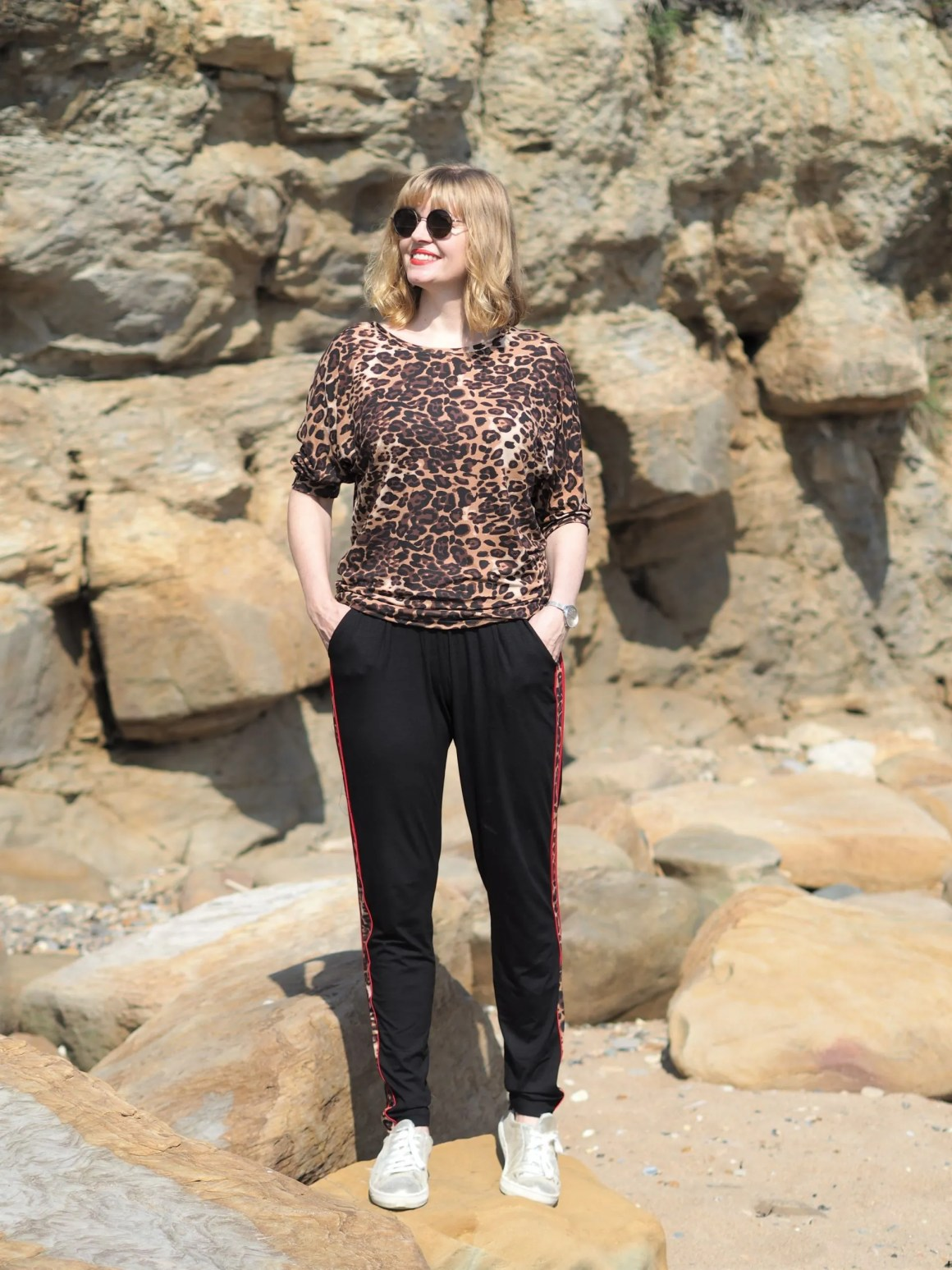 Ethical leopard print activewear