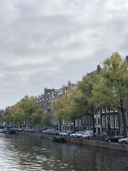 Amsterdam canals and houses