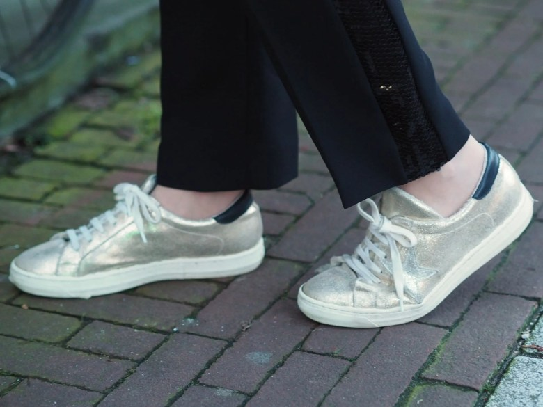 gold star leather trainers