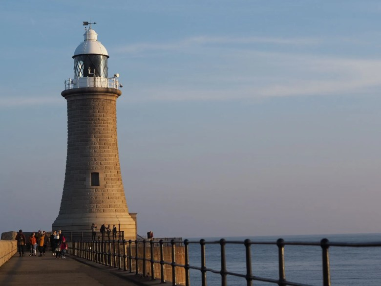 Tynemouth Lighthouse New Year's day