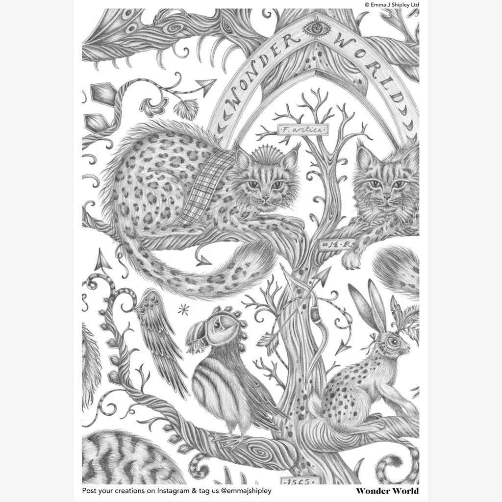 emma j shipley colouring pages