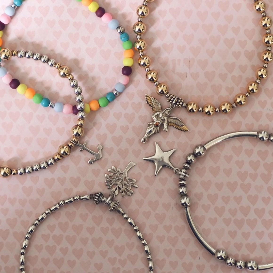 NHS rainbow bracelet