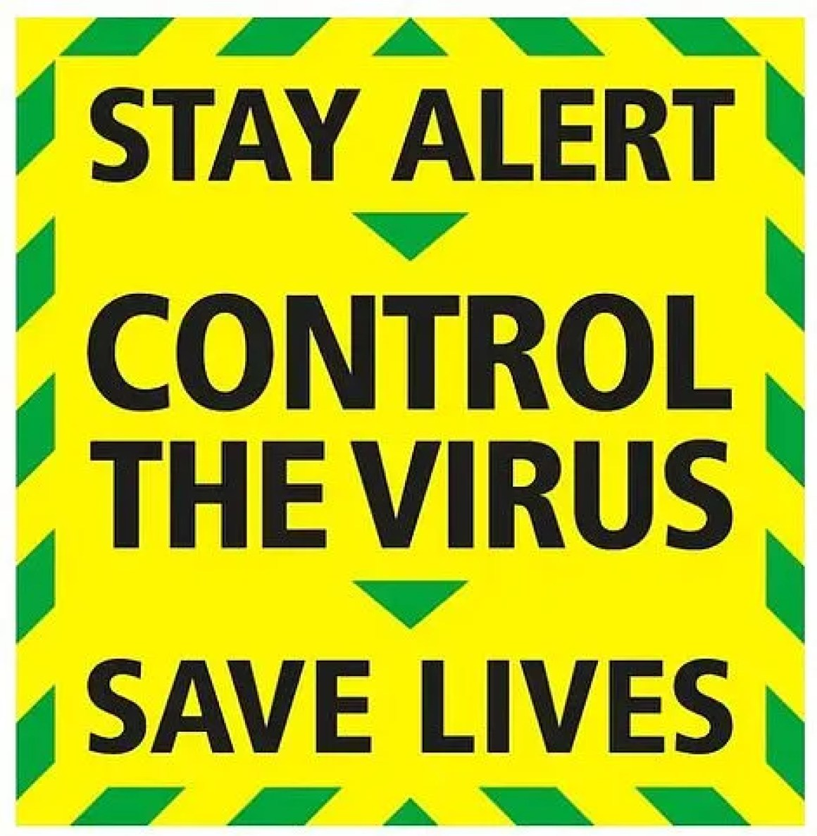 Stay alert-control the virus-save lives