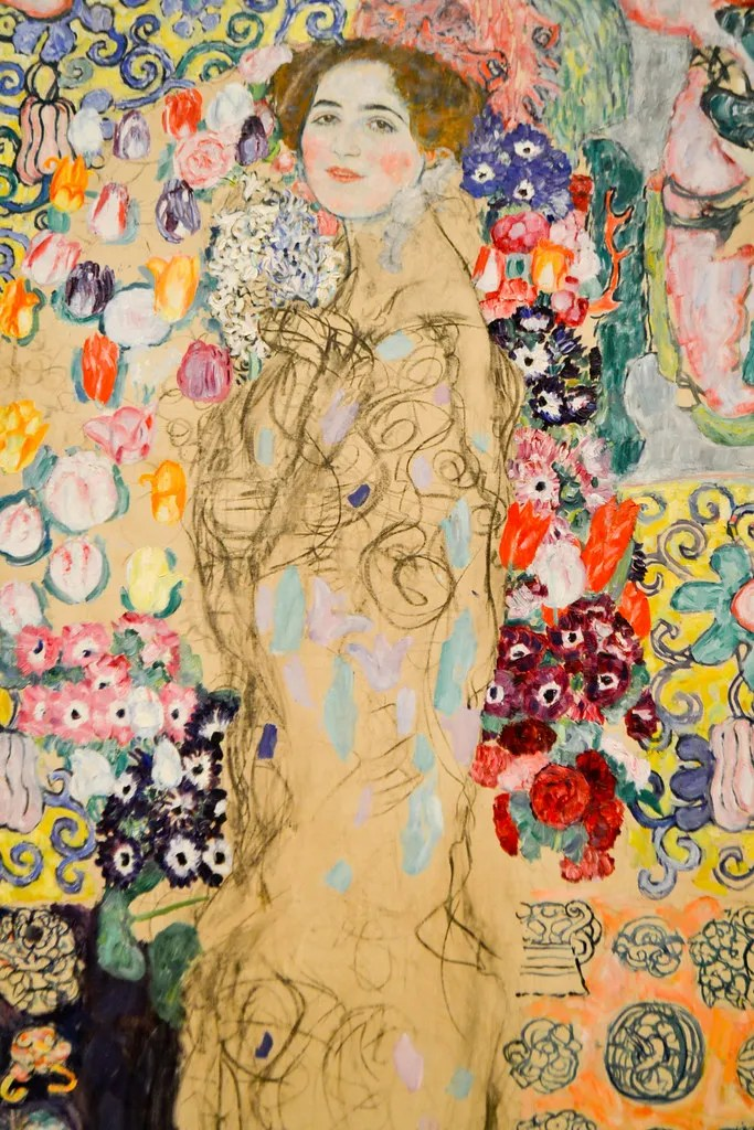 portrait-of-Ria-Munk-by-Klimt