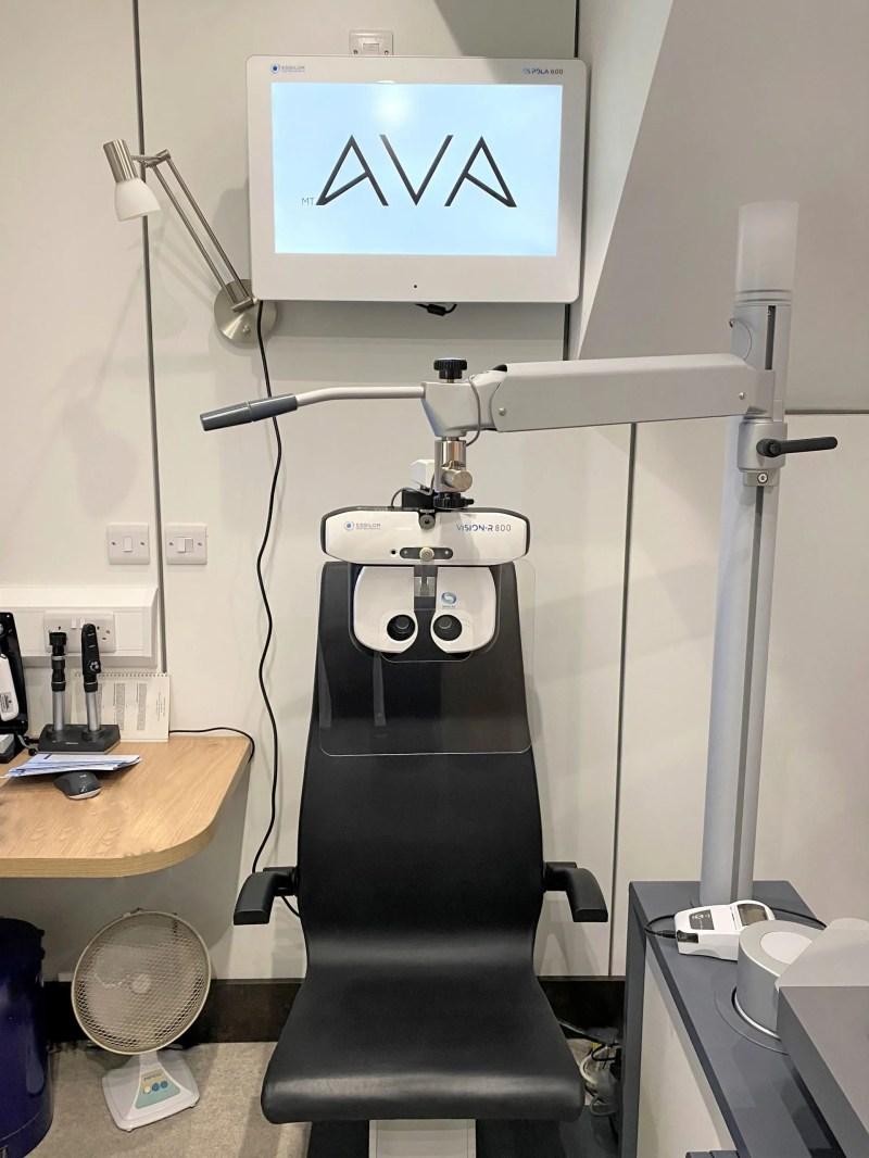 AVA sight test programme