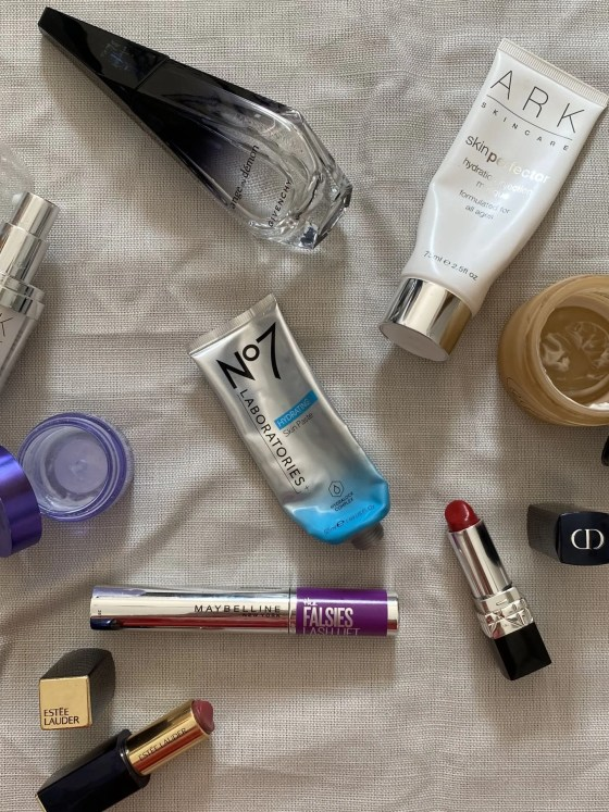 beauty products recommended by Lizzy