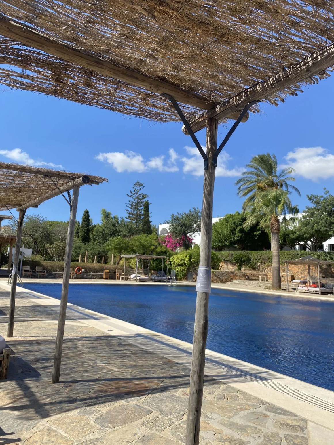 Minos Beach Art Hotel swimming pool