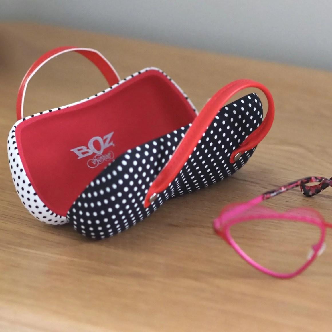 Boz handbag spectacle case