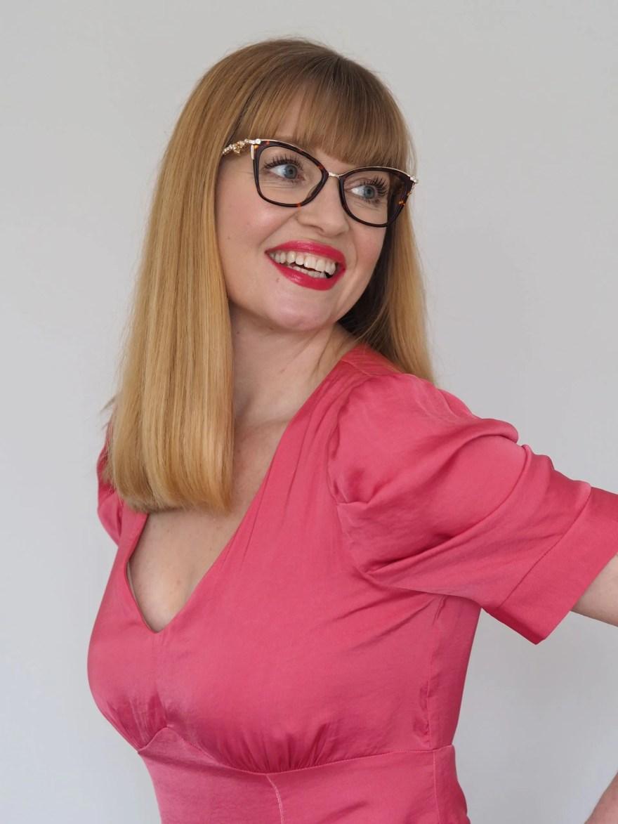 Pier Martino Swarovski-set cat-eye spectacles