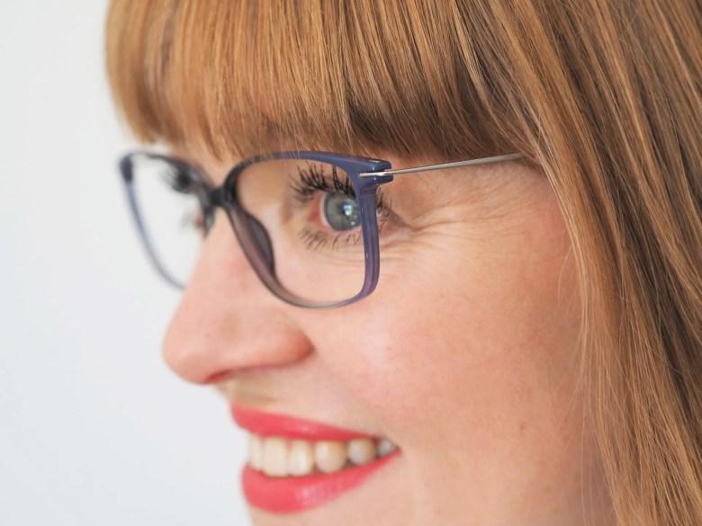grey eyewear made from lightweight plastic TX5