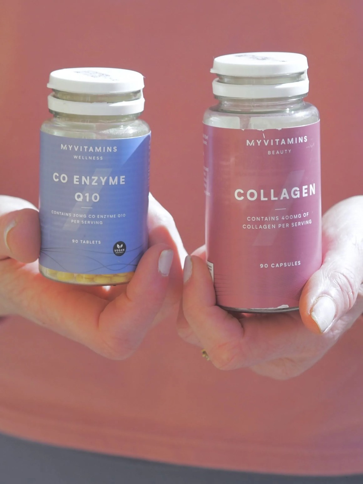 collagen and coQ10 supplements