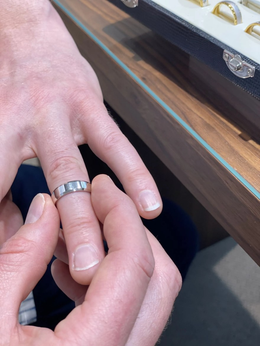 wedding ring shopping at City Jewellers, Lichfield (10)