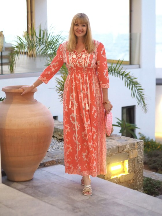 TKMakk orange dress