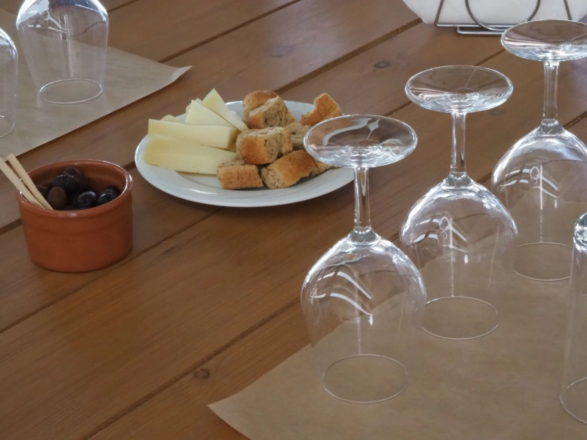 winery in the North of Crete near Margarites