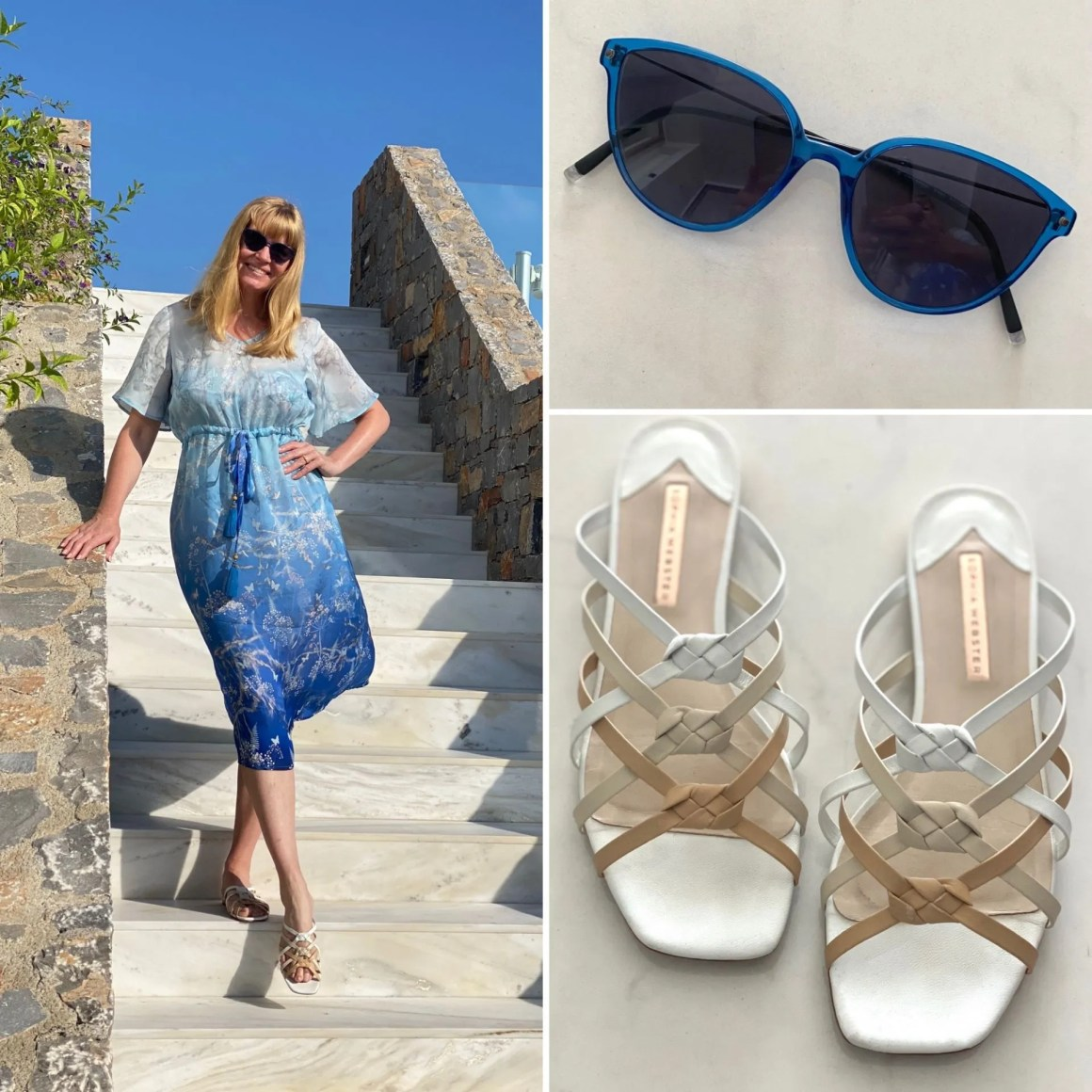 daytime honeymoon outfit for crete in August