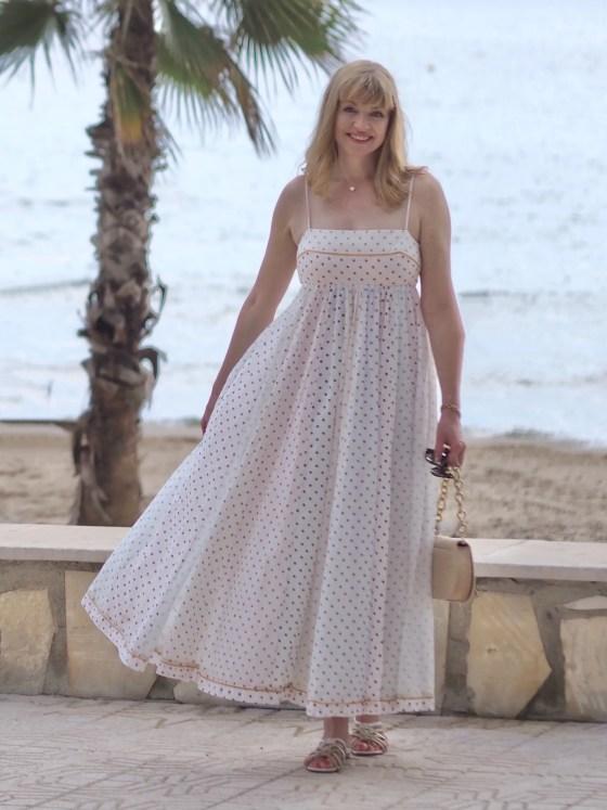 zimmerman bellitude cotton voile polka dot dress
