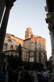 ...and passed by the I Frari church. It is one of my personal highlights in Venice and definitely worth a visit.