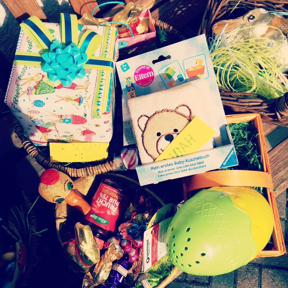 Excited about Noah's easter presents :)