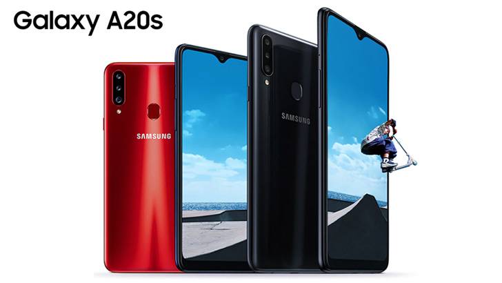 Samsung Galaxy A20s Announced Globally After The Malaysian