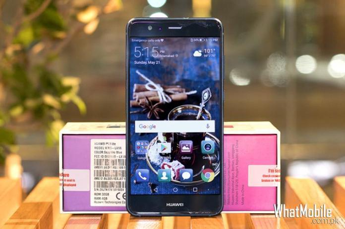 Huawei P10 lite with box
