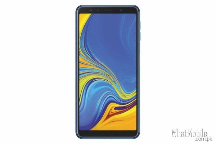 Samsung Galaxy A7 2018 Front