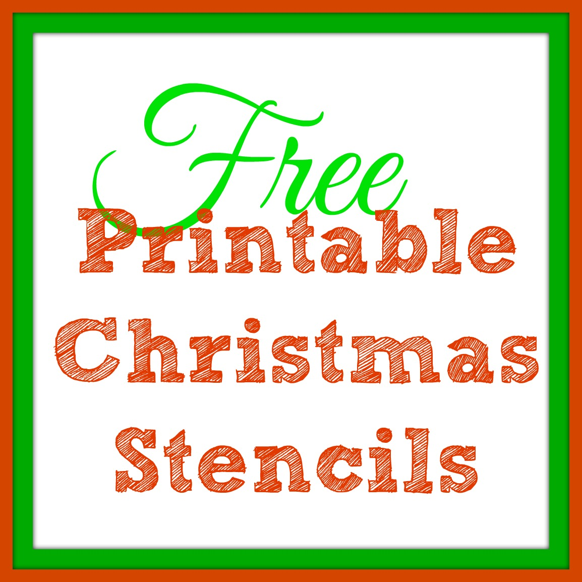 Free Printable Christmas Templates Santa