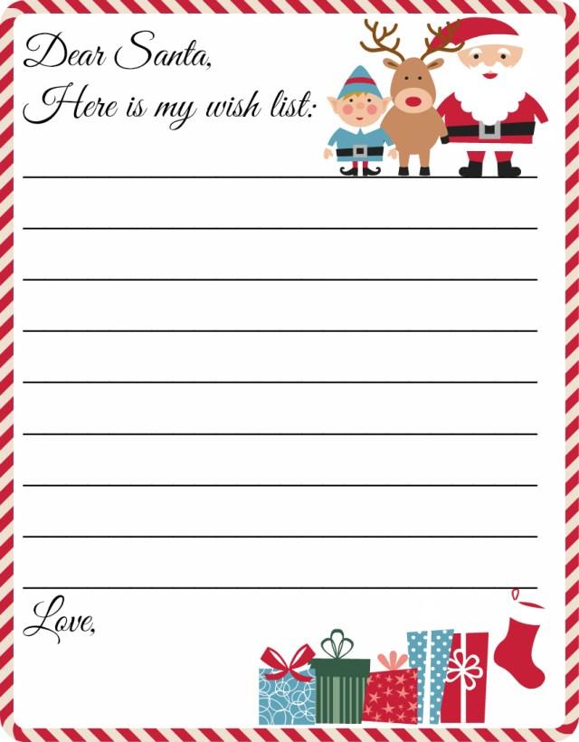 Christmas Letter Template For Kids