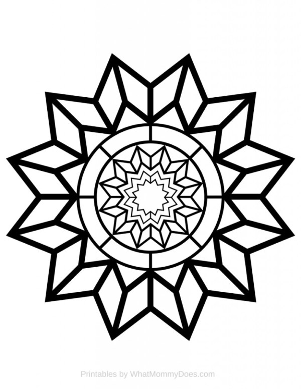 relaxing coloring pages # 21