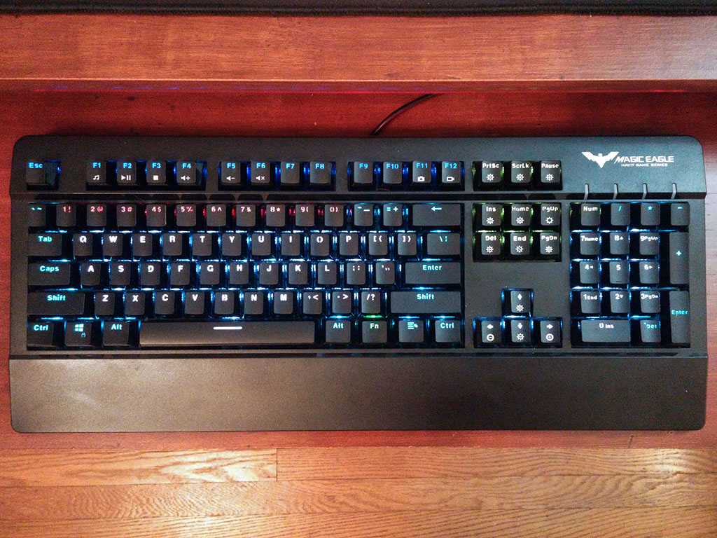 HAVIT HV-KB389L black keyboard