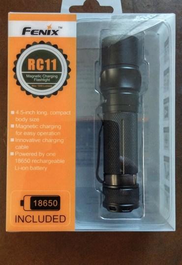 Fenix RC11 Compact LED Flashlight
