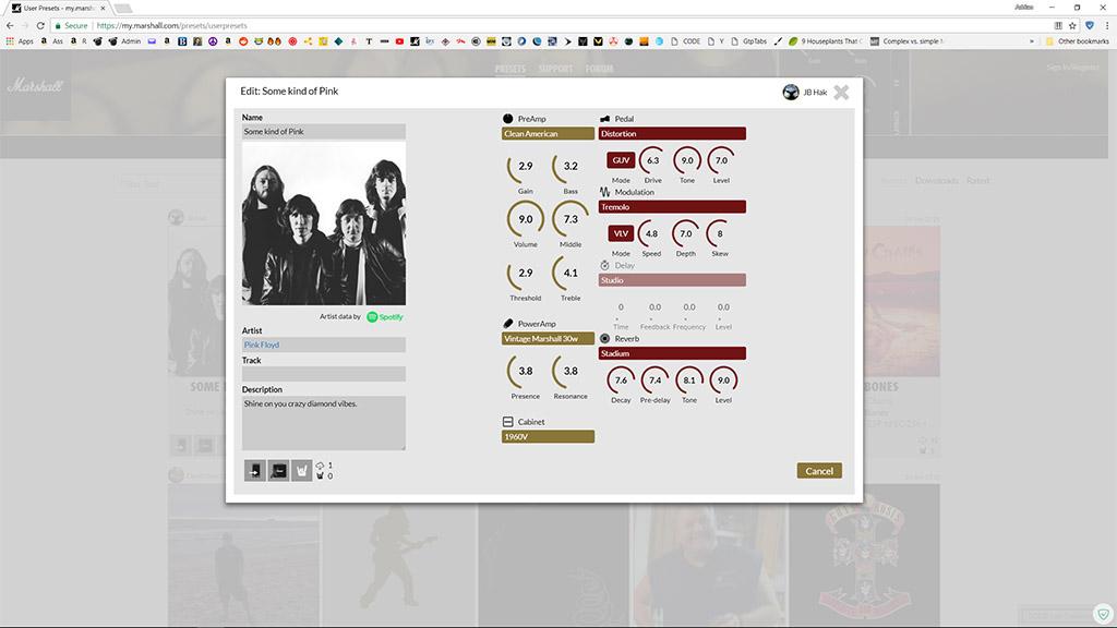 CODE 50 web presets