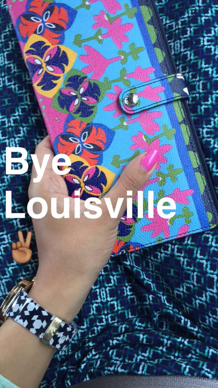 dress {old} + travel wallet + watch + nail polish