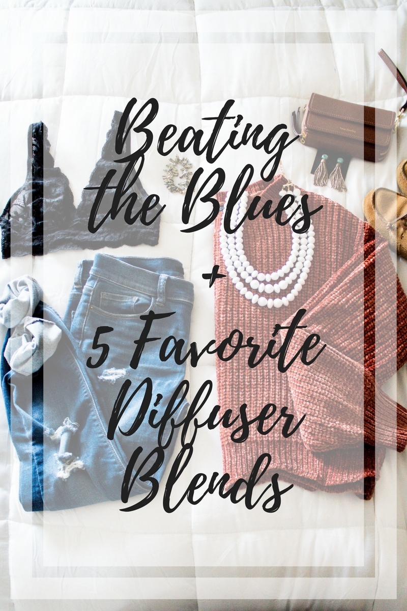 Why your closet needs a chenille sweater, how to deal with winter blues, and five diffuser blends to try out with essential oils from Kentucky blogger, What Nicole Wore. // why you need a chenille sweater, scallop sweater, chenille sweater outfit ideas, cute sweater weather ideas for women, lace bralette outfit ideas, best diffuser blends