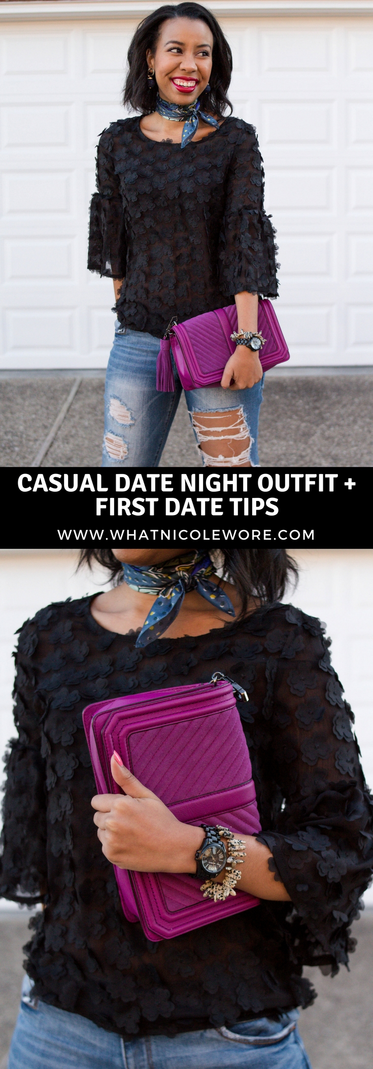 First Date Behavior & Warning Signs + Go To Date Night Look