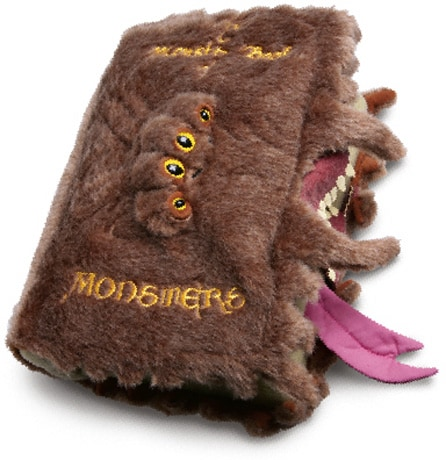 Harry Potter Monster Book Of Monsters Vibrating Plush