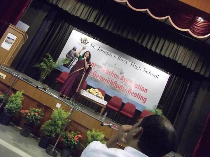 st josephs boys high school parenting workshop by dr debmita dutta